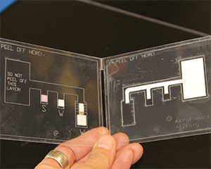 Low-cost microfluidic device