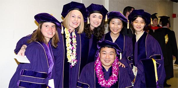 PhD students at Graduation