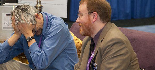 Herbert Sauro and Dan Ratner at BMES