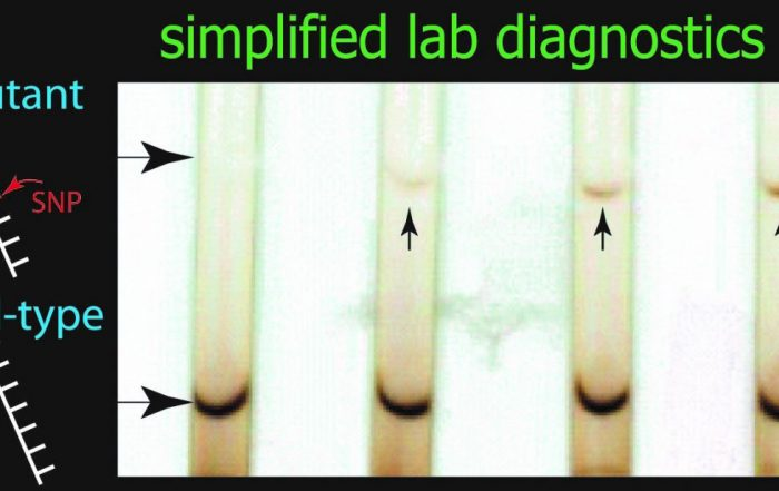 simple diagnostic for HIV