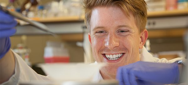 Hunter Bennett, UW Bioengineering senior and Dean's Medal recipient