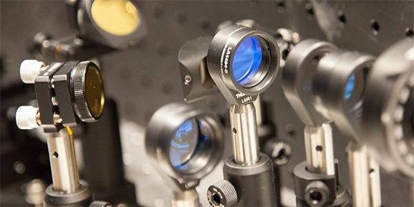 Image of optical laboratory equipment