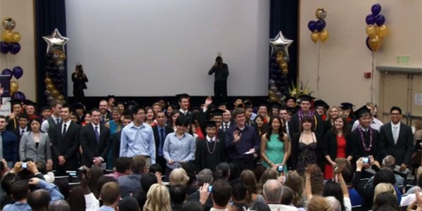 Class of 2014 at Bioengineering Departmental Graduation Ceremony