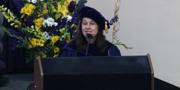 Cecilia Giachelli at 2014 Bioengineering Departmental Graduation Ceremony