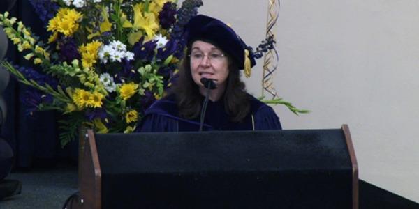Cecilia Giachelli at 2014 Bioengineering Departmental Graduation Ceremony