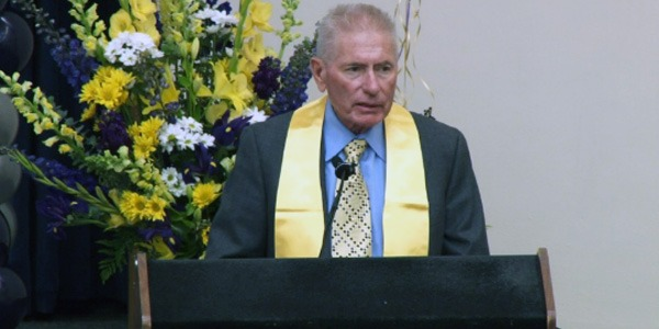 David C. Auth at 2014 Bioengineering Departmental Graduation Ceremony