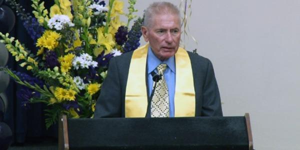 David C. Auth at 2014 Bioengineering Departmental Graduation Ceremony