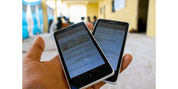 CGNet Swara app by Krittika D'Silva