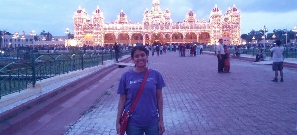UW Bioengineering student Krittika D'Silva in India