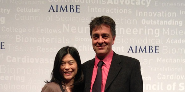 UW Bioengineering faculty Suzie Pun, Albert Folch inducted as AIMBE Fellows