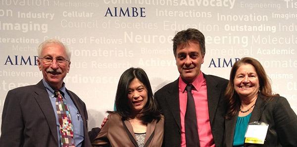 Buddy Ratner, Suzie Pun, Albert Folch and Ceci Giachelli