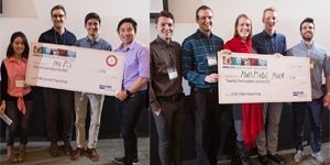 Student Award winners at Health Innovation Challenge