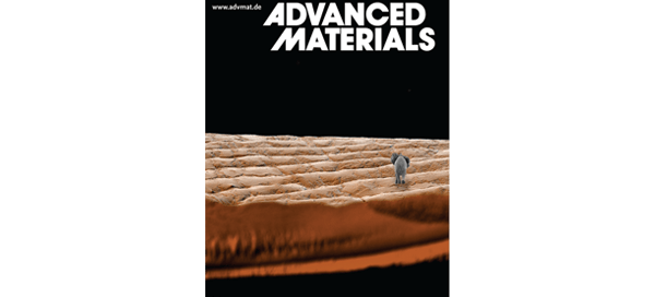 March 2016 cover of Advanced Materials