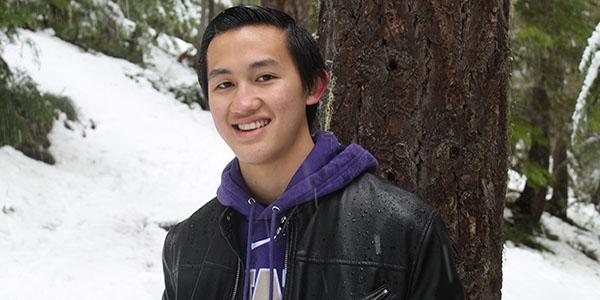 UW Bioengineering student Caleb Perez