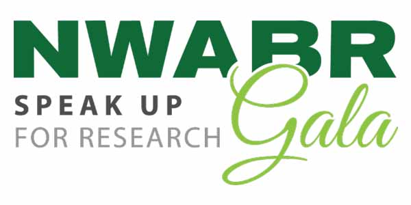 NWABR Speak up for Research Gala logo