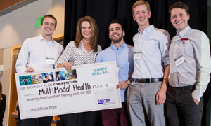 UW Business Plan Competition winners MultiModal Health