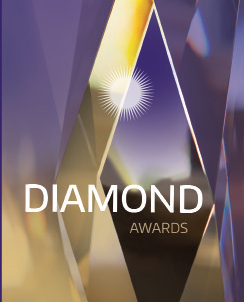 Diamond Award logo
