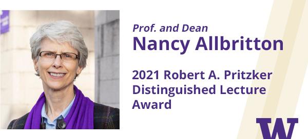 Nancy Allbritton Pritzker winner