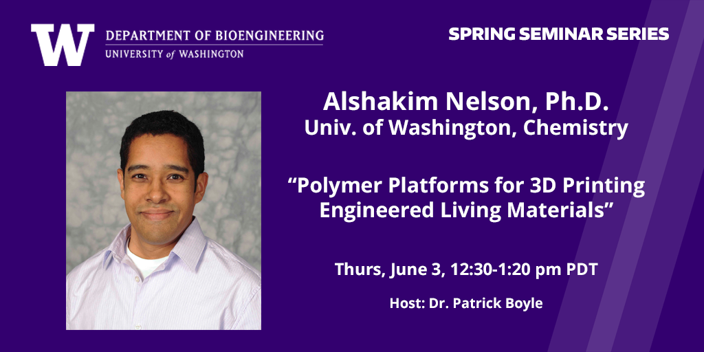 Headshot of Alshakim Nelson and seminar title, June 3, 12:30 PT