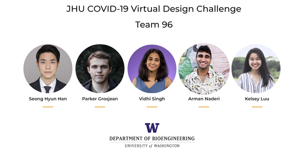 BioE students on Team COVIDIA