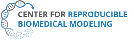 Logo Center for Reproducible Biomedical Modeling