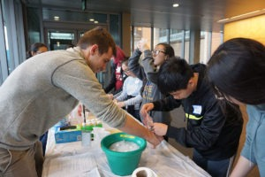 BioE students lead BIOXMS outreach event activities