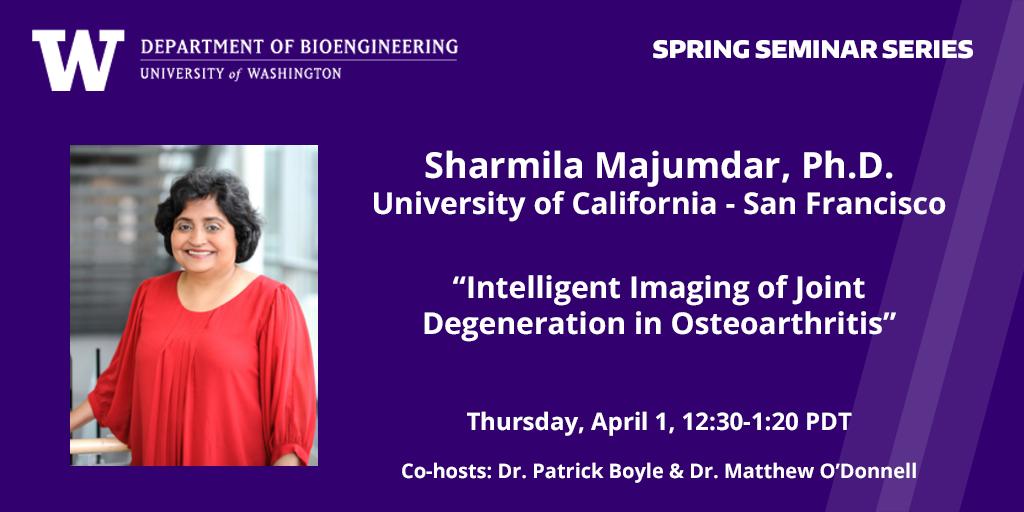 Dr. Majumdar image April 1 seminar