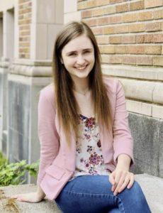 Portrait of Bioengineering senior Lauren Holbrook