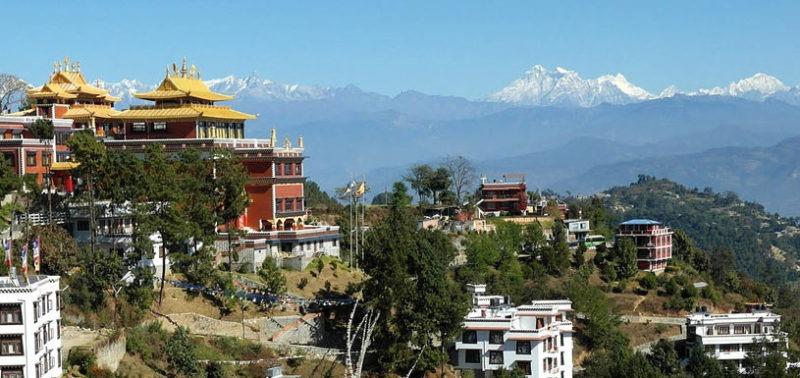 Namobuddha Nepal panorama