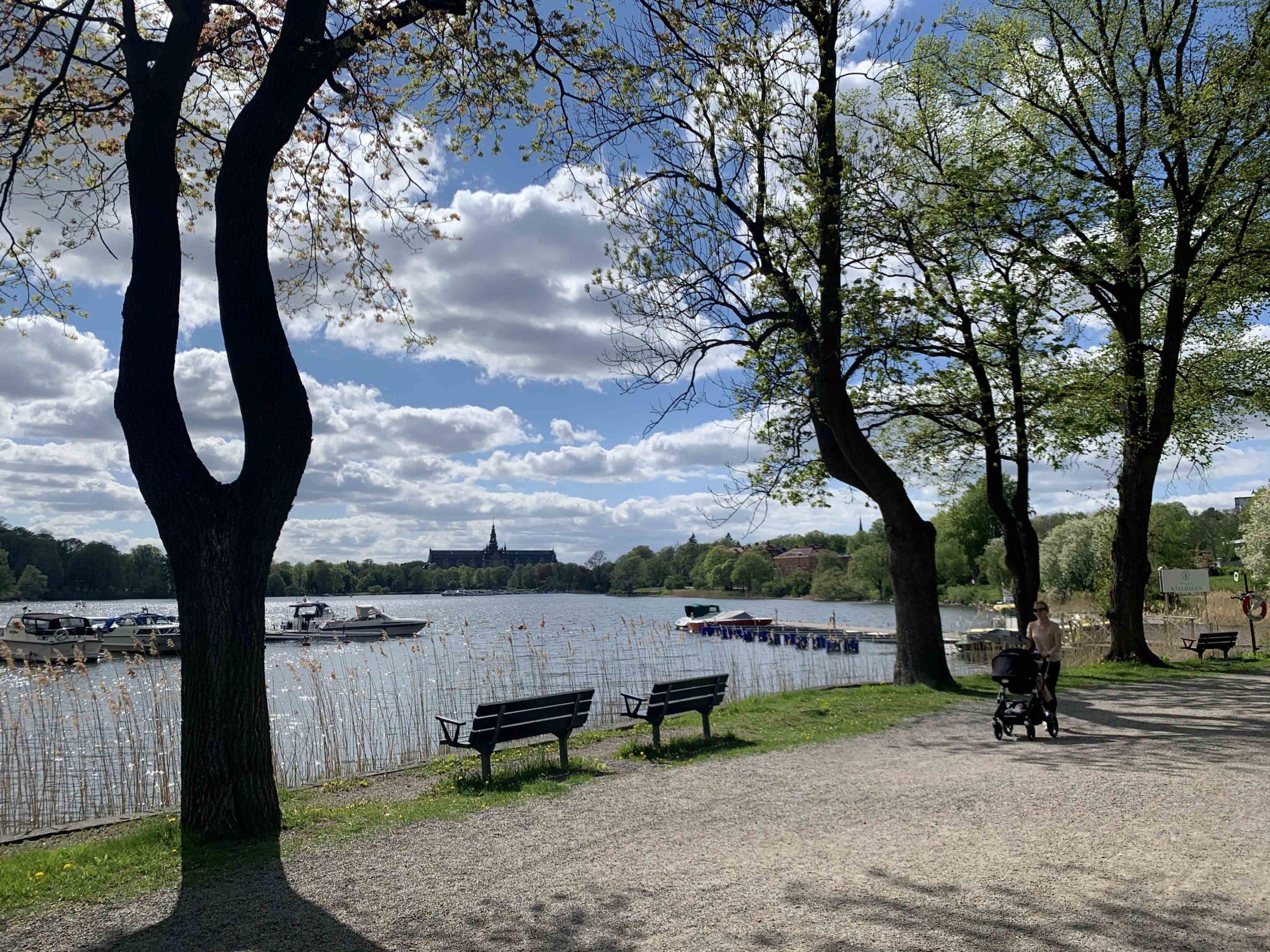 park in Sweden