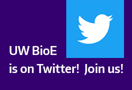 Twitter logo and BioE is on Twitter