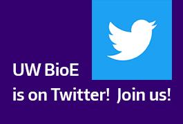 Twitter logo and BioE is on Twitter