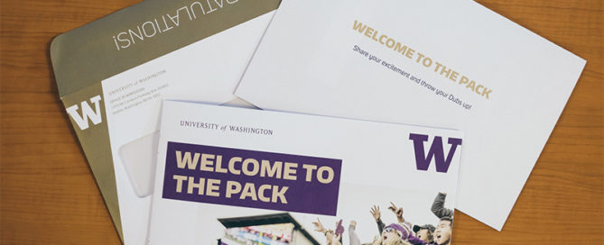 UW admissions packet
