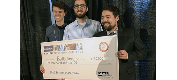 BWB Anesthesia Device team with $10,000 prize from the Holloman Health Innovation Challenge