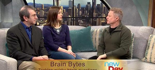 Eric Chudler and Lise Johnson on New Day Northwest