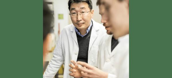 Deok-Ho Kim and lab collaborators