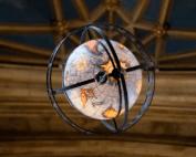 Globe in Suzzallo Library