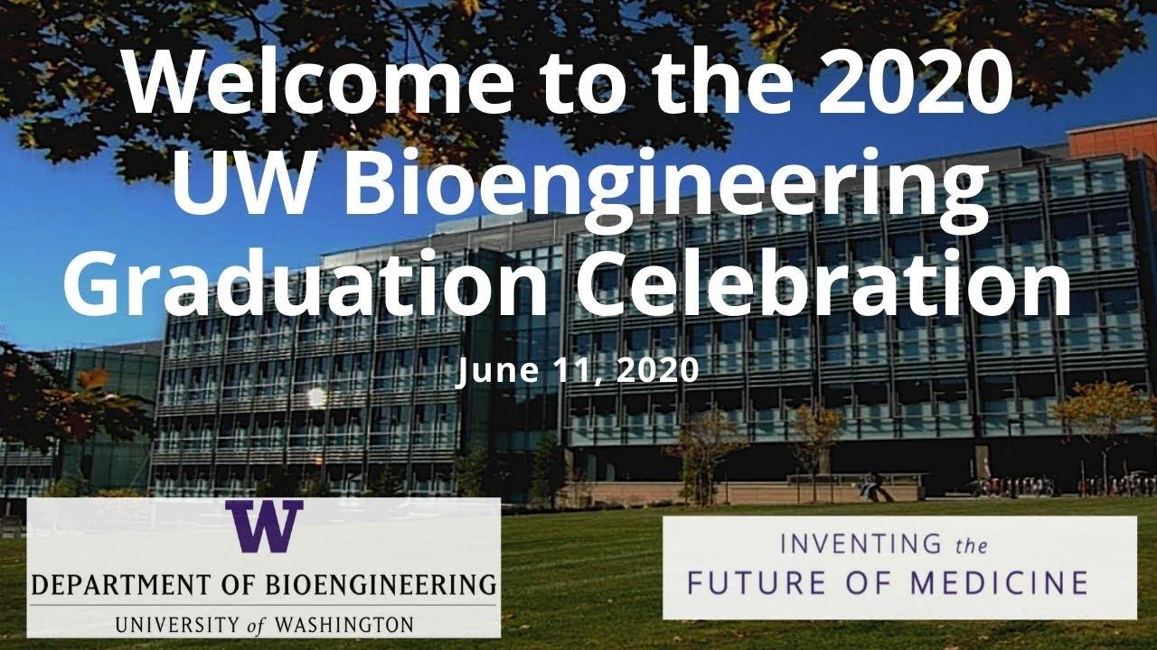 2020 UW Bioengineering Graduation