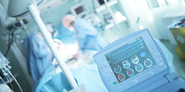 Medical equipment in surgery